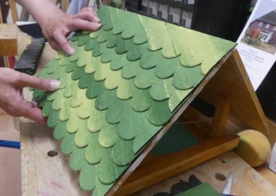 Wir bauen ein Vogelhaus